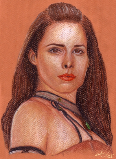 Holly Marie Combs by LittleSinner